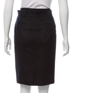 Gorgeous and warm wool black Burberry skirt